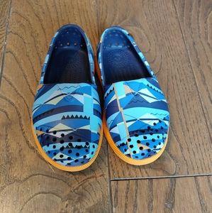 Native Verona RegattaBlue Toddler Shoes